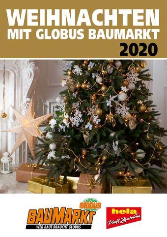 Globus Baumarkt Prospekt (bis einschl. 31-12)