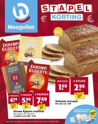 Hoogvliet reclame folder (geldig t/m 03-11)