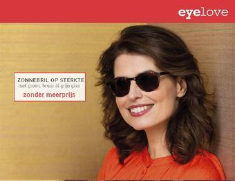 Eyelove brillen reclame folder (geldig t/m 09-11)