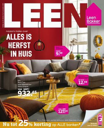 Leen Bakker reclame folder (geldig t/m 08-11)