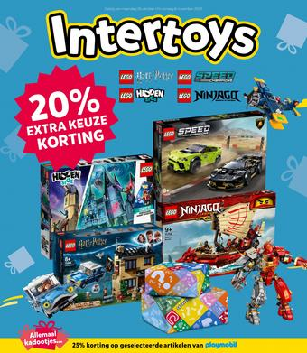 Intertoys reclame folder (geldig t/m 08-11)