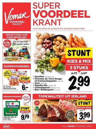 Vomar reclame folder (geldig t/m 31-10)