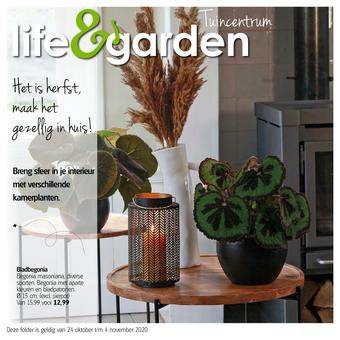 Life & Garden reclame folder (geldig t/m 04-11)