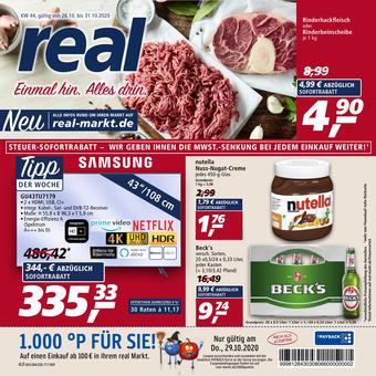 real reclame folder (geldig t/m 31-10)