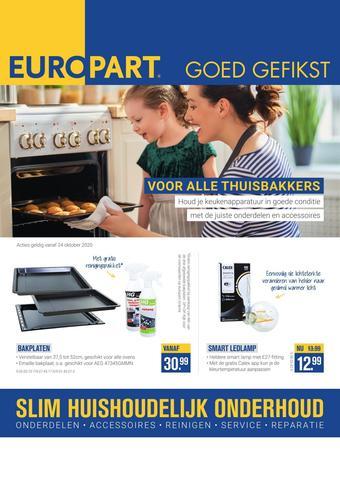 Europart reclame folder (geldig t/m 22-11)