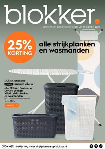 Blokker reclame folder (geldig t/m 08-11)