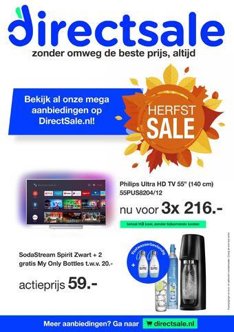 DirectSale reclame folder (geldig t/m 01-11)