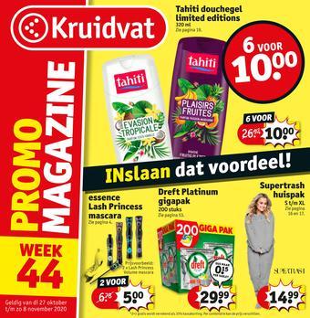 Kruidvat reclame folder (geldig t/m 08-11)
