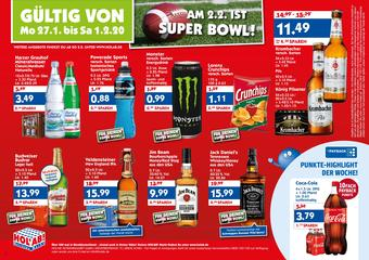 Hol'ab Getränkemarkt Prospekt (bis einschl. 01-11)