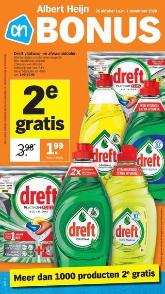 Albert Heijn reclame folder (geldig t/m 01-11)