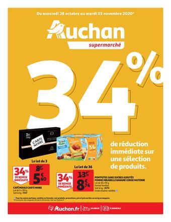 Auchan reclame folder (geldig t/m 03-11)