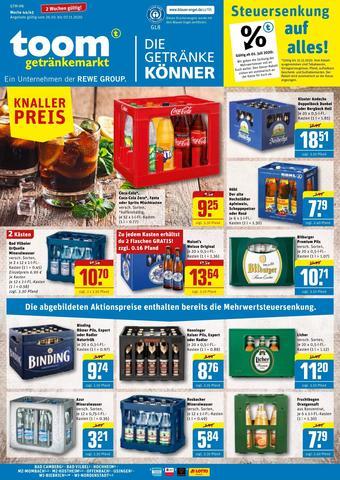 toom Getränkemarkt Prospekt (bis einschl. 07-11)