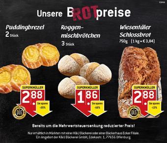 K&U Bäckerei Prospekt (bis einschl. 01-11)