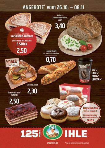 Landbäckerei Ihle Prospekt (bis einschl. 08-11)