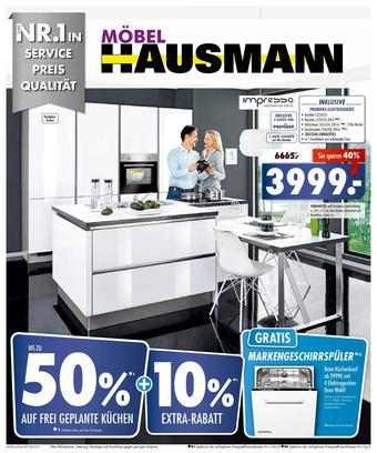 Möbel Hausmann Prospekt (bis einschl. 22-11)