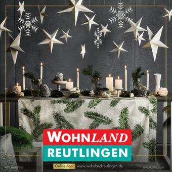 Wohnland Reutlingen Prospekt (bis einschl. 09-11)
