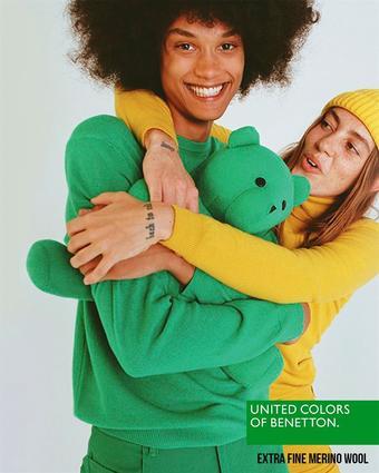 Benetton reclame folder (geldig t/m 26-12)