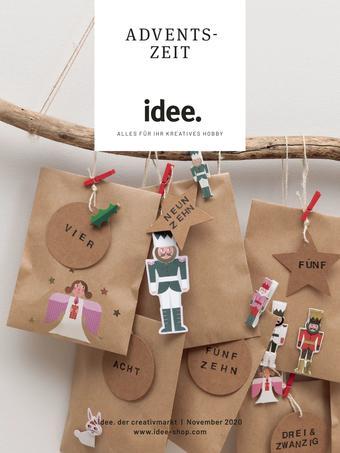 Idee Creativmarkt Prospekt (bis einschl. 30-11)
