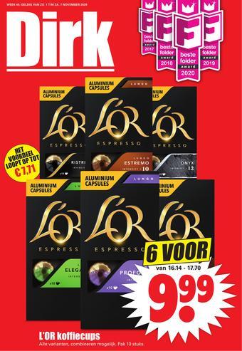 Dirk reclame folder (geldig t/m 07-11)
