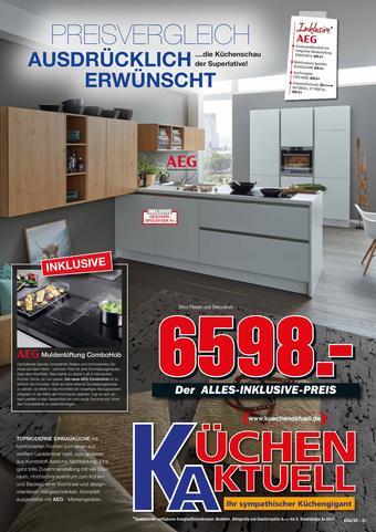 Küchen Aktuell Prospekt (bis einschl. 30-11)