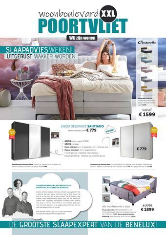 Woonboulevard Poortvliet reclame folder (geldig t/m 14-11)