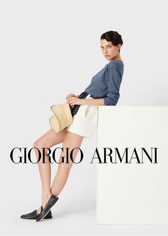 Armani reclame folder (geldig t/m 28-12)