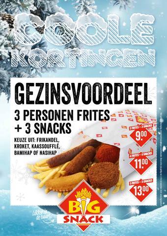 Big Snack reclame folder (geldig t/m 30-11)