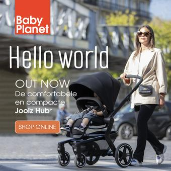 Babyplanet reclame folder (geldig t/m 31-12)