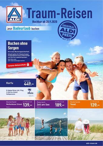 ALDI Nord Reisen Prospekt (bis einschl. 31-03)