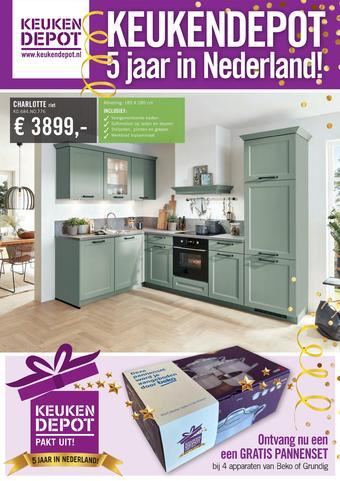 Keukendepot reclame folder (geldig t/m 20-12)