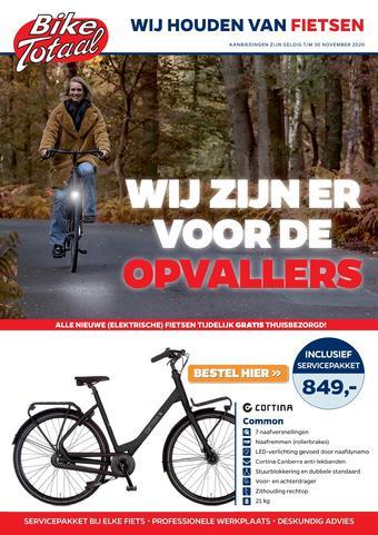 Bike Totaal reclame folder (geldig t/m 30-11)