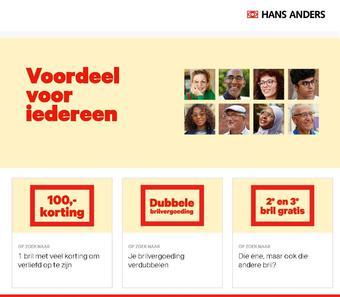 Hans Anders reclame folder (geldig t/m 07-12)