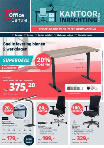 Office Centre reclame folder (geldig t/m 08-12)