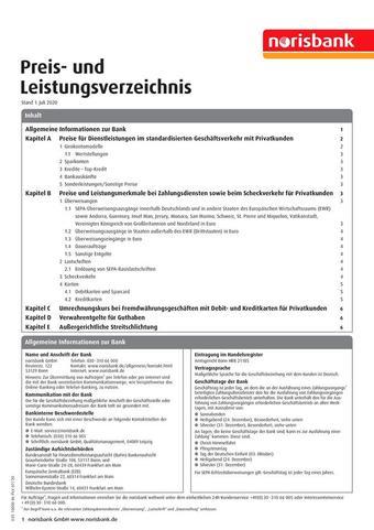 Norisbank Prospekt (bis einschl. 30-11)