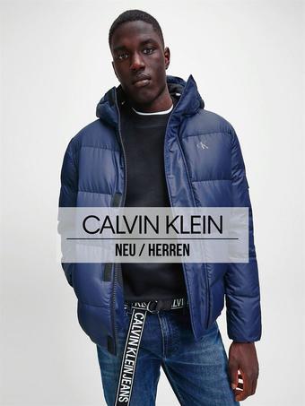 Calvin Klein Prospekt (bis einschl. 05-01)