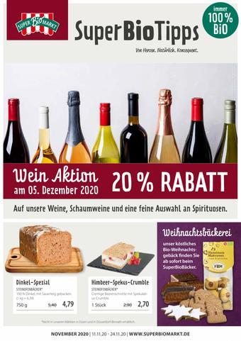 Superbiomarkt Prospekt (bis einschl. 24-11)