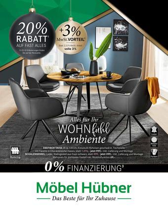 Möbel Hübner Prospekt (bis einschl. 29-11)