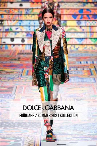 Dolce & Gabbana Prospekt (bis einschl. 08-01)