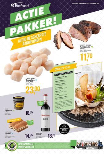 Bidfood reclame folder (geldig t/m 13-12)