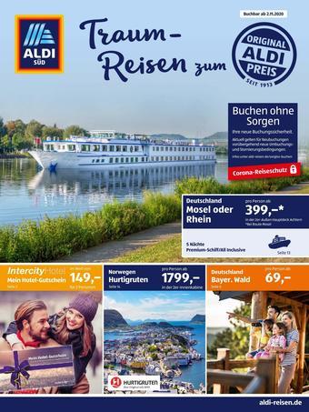 Aldi Süd Reisen Prospekt (bis einschl. 30-11)