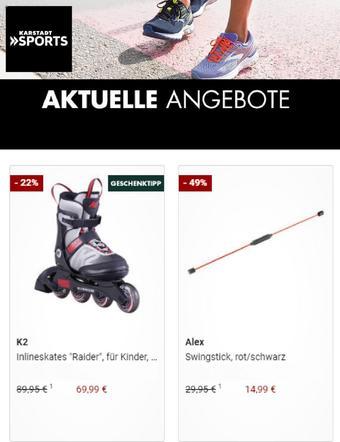 Karstadt Sports Prospekt (bis einschl. 15-12)