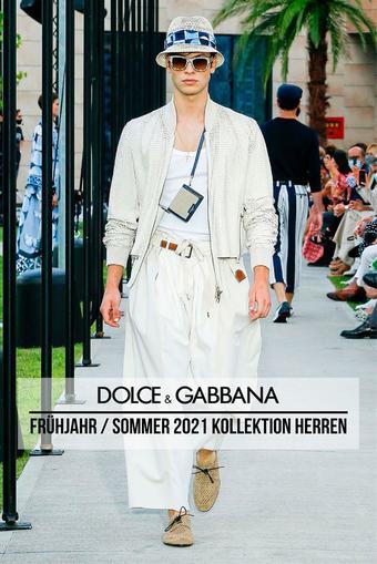 Dolce & Gabbana Prospekt (bis einschl. 10-01)