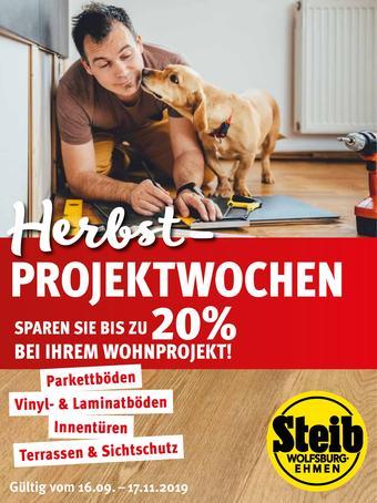 Steib Holzfachhandel Prospekt (bis einschl. 31-12)