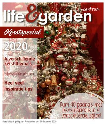 Life & Garden reclame folder (geldig t/m 26-12)