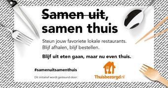 Thuisbezorgd.nl reclame folder (geldig t/m 28-02)