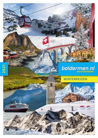 Bolderman Excursiereizen reclame folder (geldig t/m 28-02)