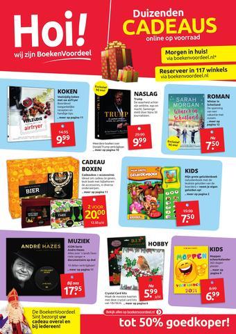 Boekenvoordeel reclame folder (geldig t/m 05-12)