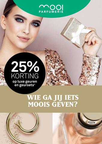 Mooi parfumerie reclame folder (geldig t/m 06-12)