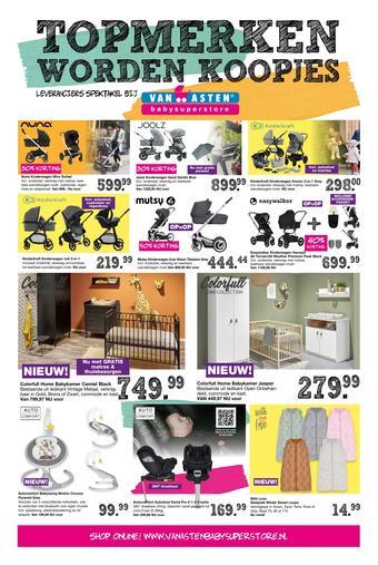 Van Asten BabySuperstore reclame folder (geldig t/m 05-12)