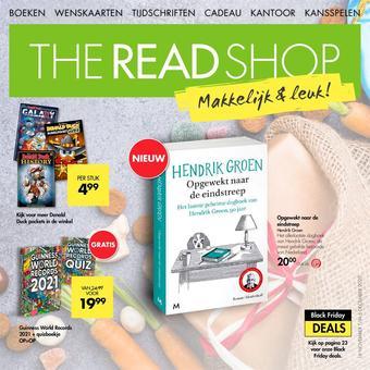The Read Shop reclame folder (geldig t/m 06-12)